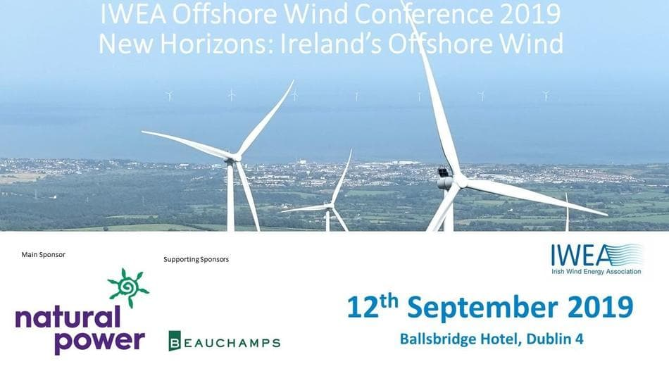 Irish Wind Energy Association (IWEA) Offshore Wind Conference flyer